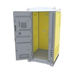 Yellow Portable Toilet